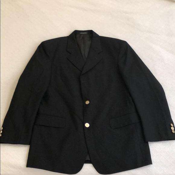 Cornelli Suits Blazers Mens Black Blazer Or Dress Coat Poshmark
